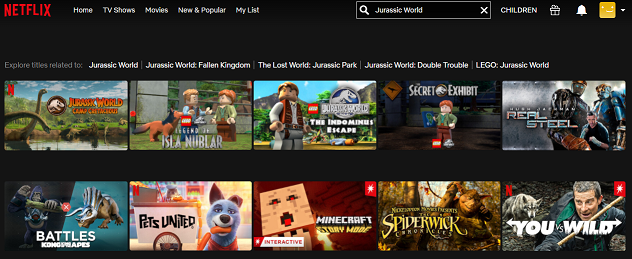 Watch Jurassic World (2015) on Netflix 1