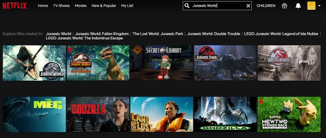Watch Jurassic World (2015) on Netflix 2