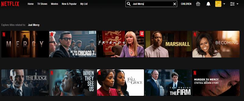 Watch Just Mercy (2019) on Netflix 1