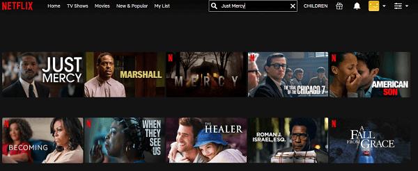 Watch Just Mercy (2019) on Netflix 2