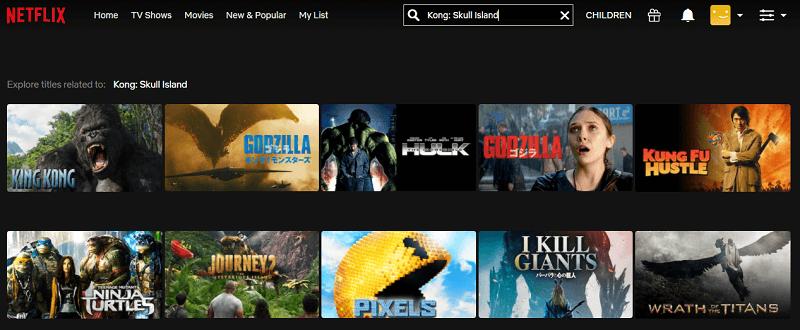 Watch Kong - Skull Island (2017) on Netflix 1