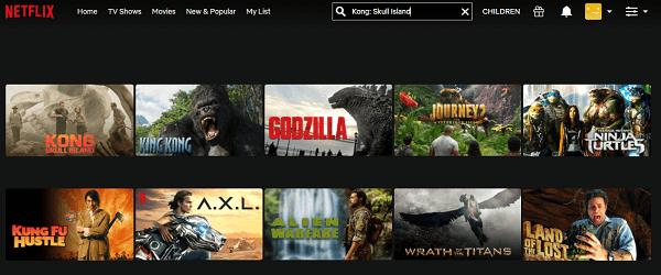 Watch Kong - Skull Island (2017) on Netflix 2
