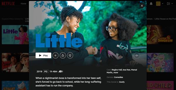 Watch Little (2019) on Netflix 3