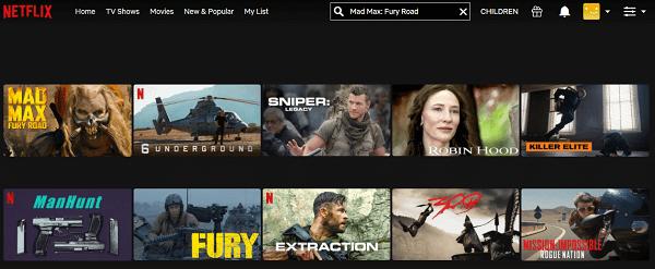 Watch Mad Max - Fury Road (2015) on Netflix 2