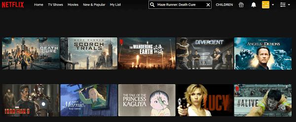 Watch Maze Runner - Death Cure (2018) on Netflix 2