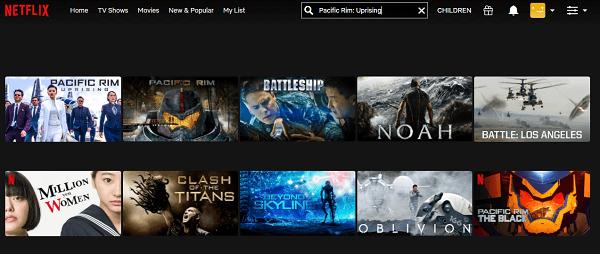 Watch Pacific Rim - Uprising (2018) on Netflix 2