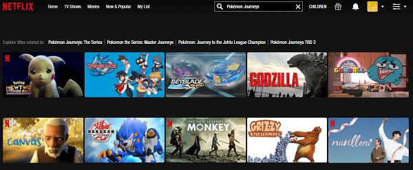 Watch Pokémon Journeys All Episodes on Netflix 1