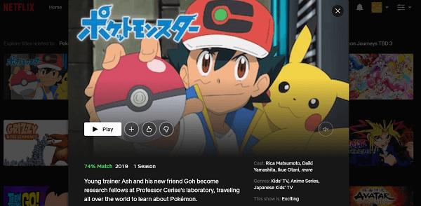 Watch Pokémon Journeys All Episodes on Netflix 3
