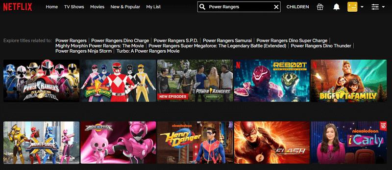 Watch Power Rangers (2017) on Netflix 1