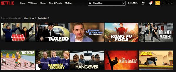 Watch Rush Hour (1998) on Netflix 2