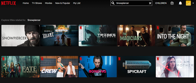 Watch Snowpiercer (2013) on Netflix 2