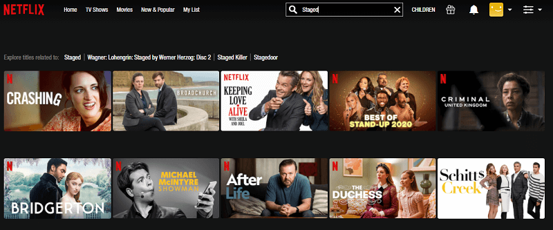 Watch Staged on Netflix 1