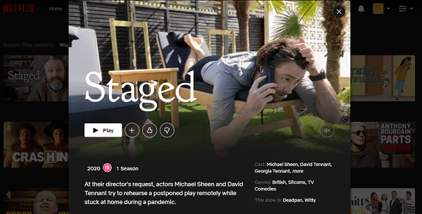 Watch Staged on Netflix 3