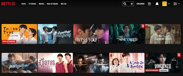 Watch TharnType the series on Netflix 2