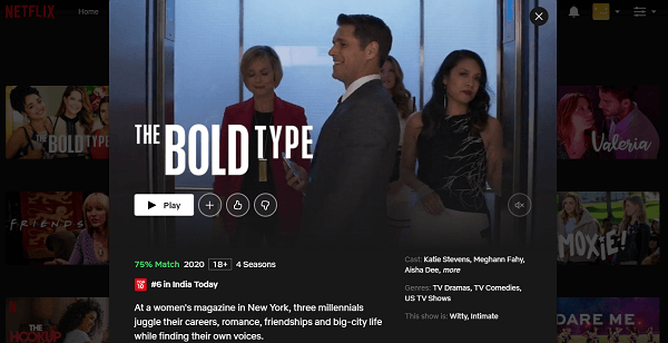 Watch The Bold Type All Seasons on Netflix 3