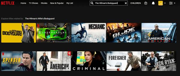 Watch The Hitman's Bodyguard (2015) on Netflix