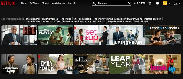 Watch The Intern (2015) on Netflix 2