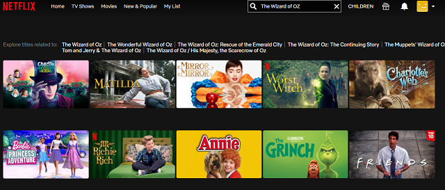 Watch The Wizard of Oz (1939) on Netflix 1