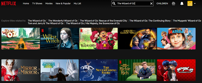 Watch The Wizard of Oz (1939) on Netflix 2