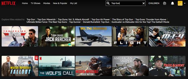Watch Top Gun (1986) on Netflix 2