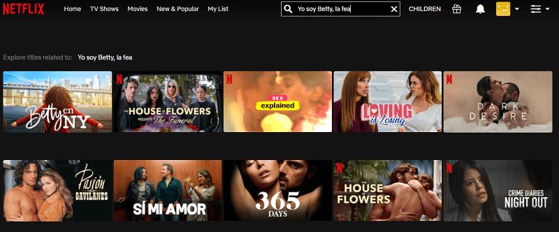Watch Yo Soy Betty, La Fea on Netflix 1