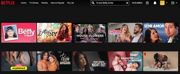 Watch Yo Soy Betty, La Fea on Netflix 2