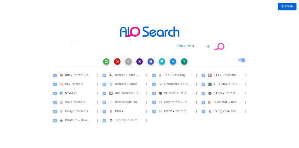 AIO Search A Torrent Search Engine