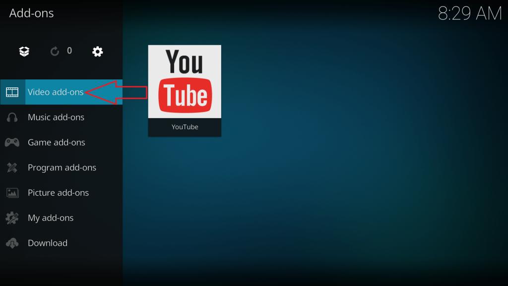 Kodi Video Addons