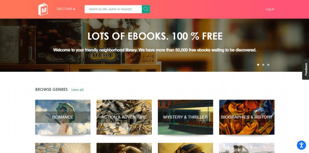 Manybooks torrent site for eBooks
