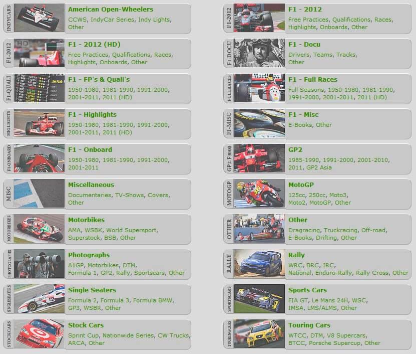 RacingForMe A sports torrent site