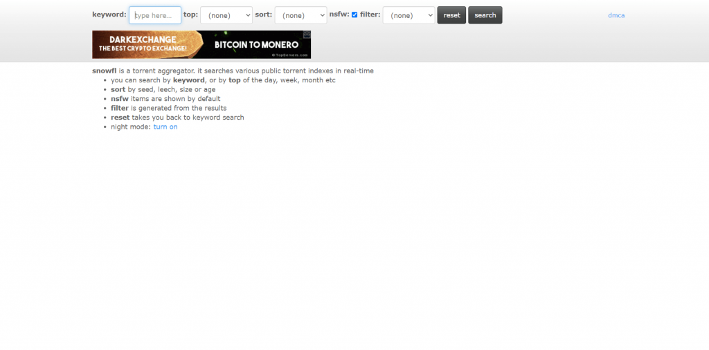 Snowfl A Torrent Search Engine