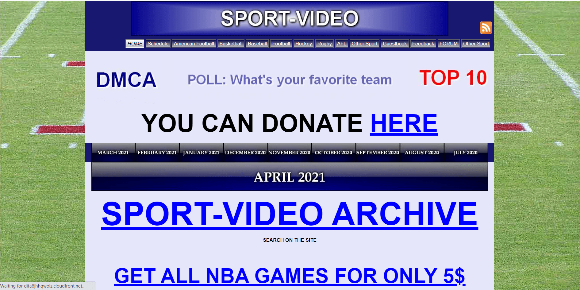 Sport Video A Sports Torrent site