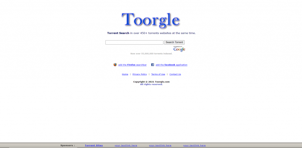 Toorgle A Torrent Search Engine