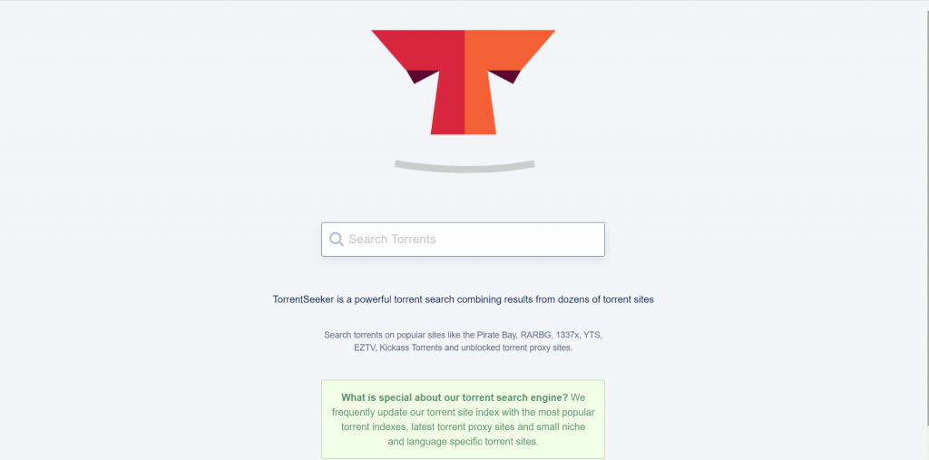 TorrentSeekers A Torrent Search Engine