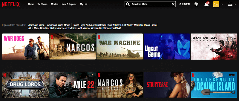 Watch American Made (2017) on Netflix 1
