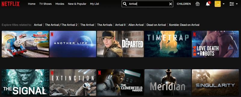 Watch Arrival (2016) on Netflix 1