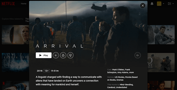 Watch Arrival (2016) on Netflix 3