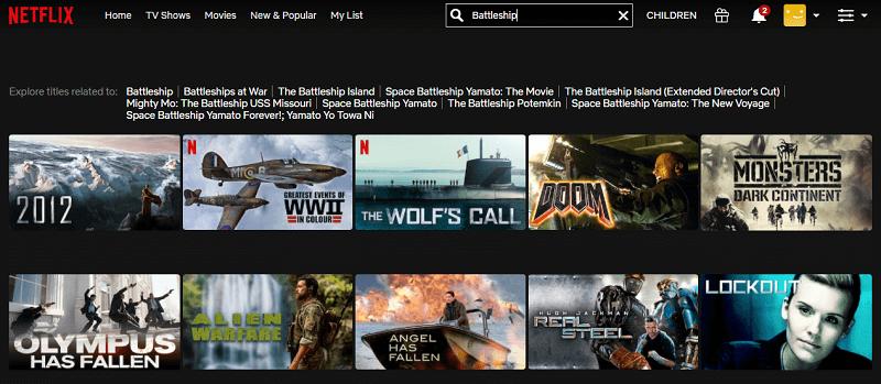 Watch Battleship (2012) on Netflix 1