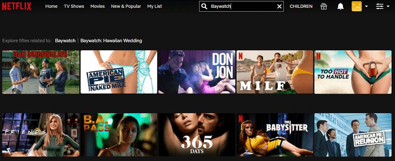 Watch Baywatch (2017) on Netflix 1