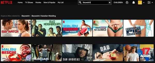 Watch Baywatch (2017) on Netflix 2