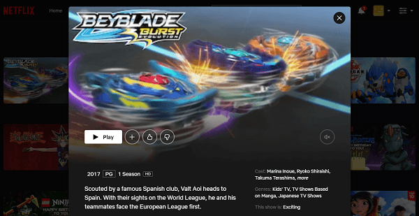 Watch Beyblade Burst Evolution on Netflix 3