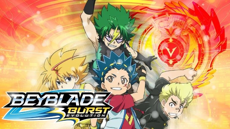 Watch Beyblade Burst Evolution on Netflix