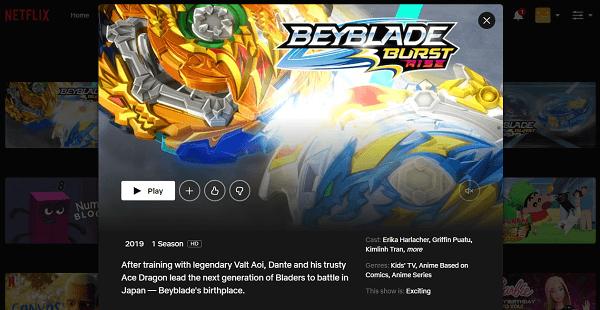 Watch Beyblade Burst Rise on Netflix 3