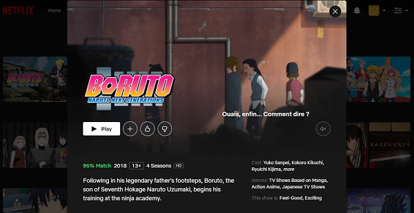Watch Boruto - Naruto Next Generations on Netflix 3