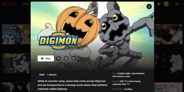 Watch Digimon Adventure on Netflix 3