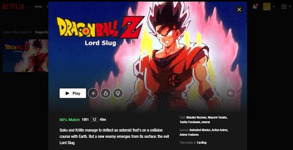 Watch Dragon Ball Z - Lord Slug on Netflix 3