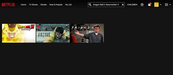 Watch Dragon Ball Z - Resurrection 'F' on Netflix 2