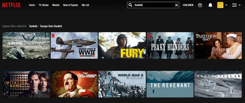 Watch Dunkirk (2017) on Netflix 1