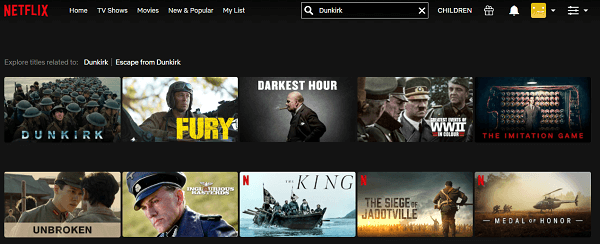 Watch Dunkirk (2017) on Netflix 2