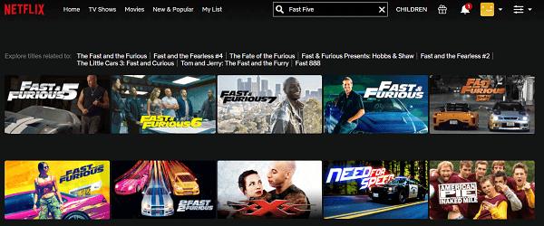 Watch Fast Five (2011) on Netflix 2